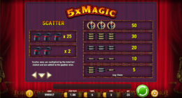 5x Magic Payouts