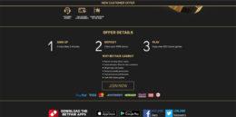 Betfair Casino Bonus Details