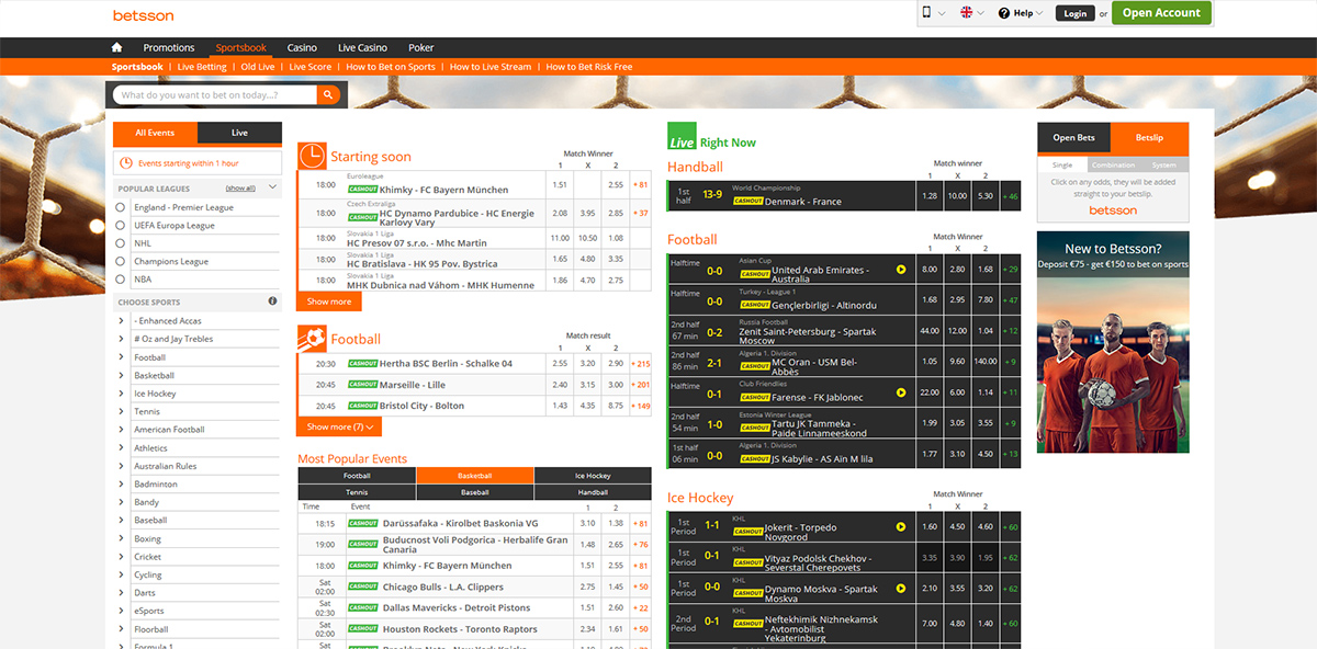 Betsson mobile betting las vegas bolton wanderers manager betting