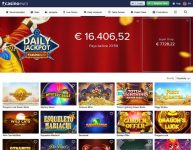 Casino Euro mobile daily jackpots