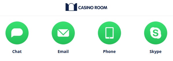 casino room customer support