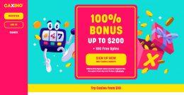 caxino casino homepage