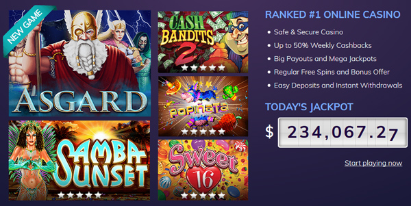 Dreams Casino games and jackpot