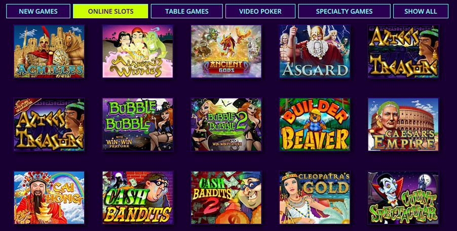 Dreams Casino slots