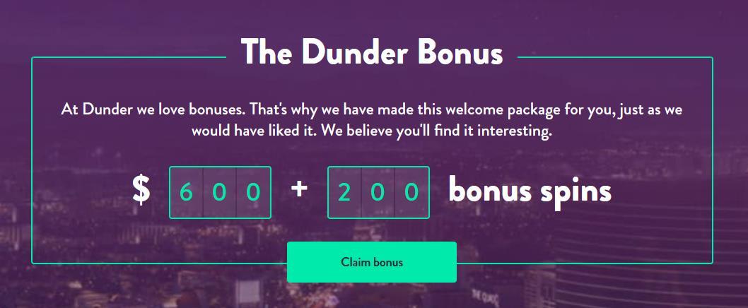 Dunder Bonus new