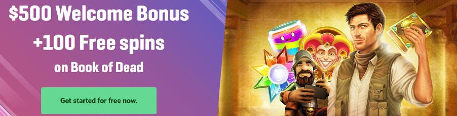 Guts Casino bonus banner