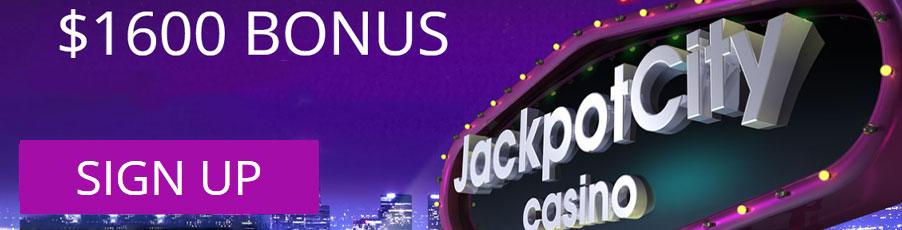 JackpotCity Casino bonus banner