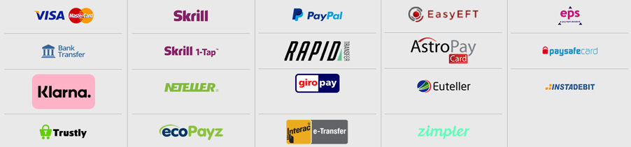 Magic Red Canada payment methods
