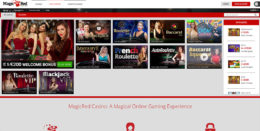 Magic Red Casino Live Games