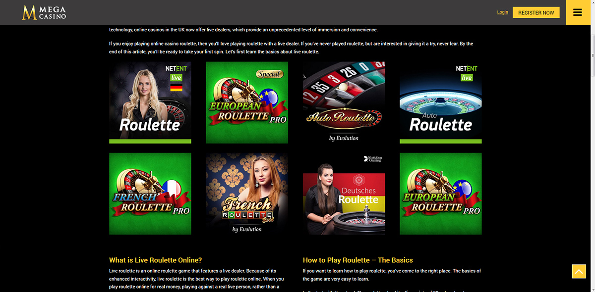 Mega Casino - 100% bonus up to $100 on first deposit | mobile-casino.com