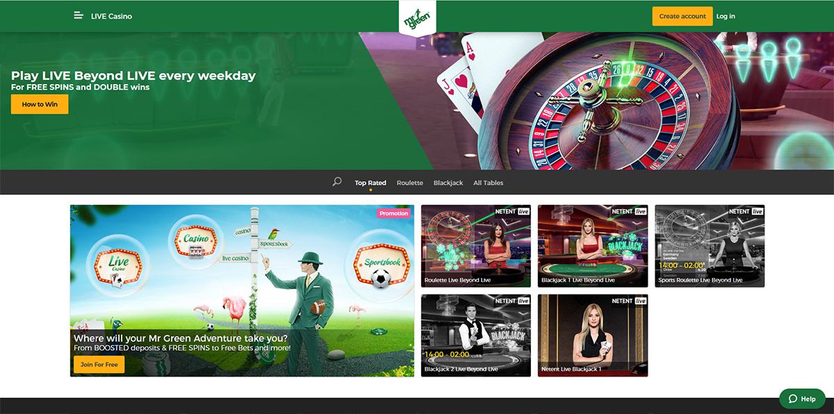 Mr Green Casino Mobile
