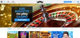 MrPlay Casino Roulette