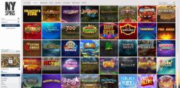 NYSpins Casino Games