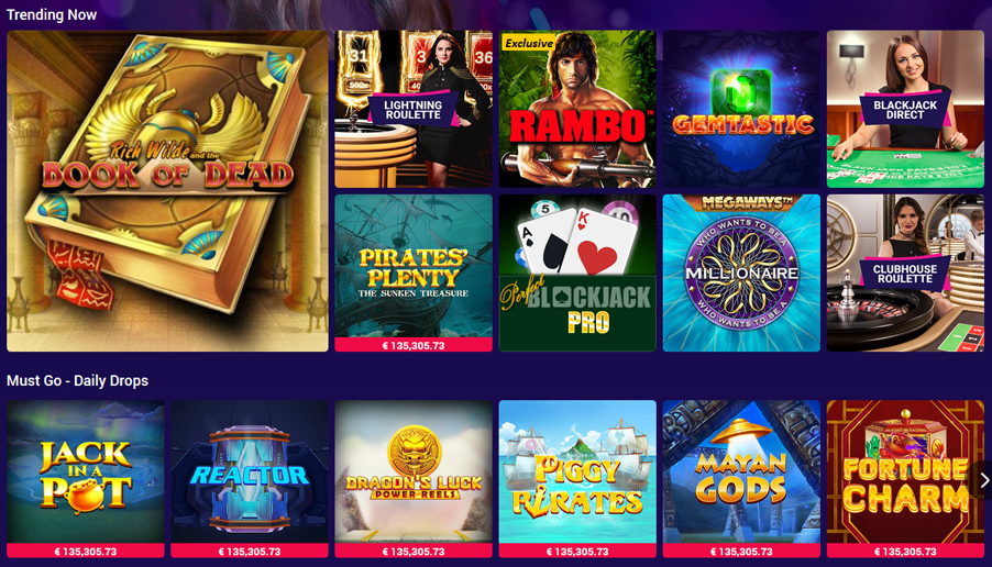 Party Casino Games