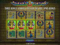 Pharaohs Fortune Bonus