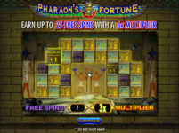 Pharaohs Fortune Freespins