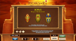 riches of ra bonus