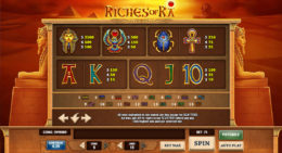 riches of ra payouts