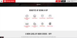 Vegas Hero Casino VIP Advantages