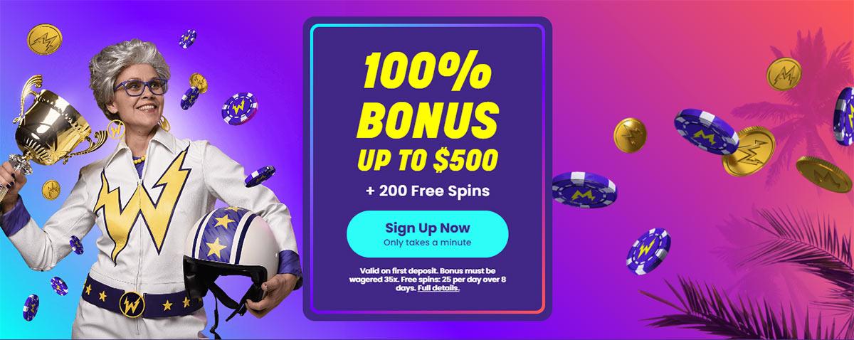 wildz welcome bonus