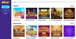 wildz casino games